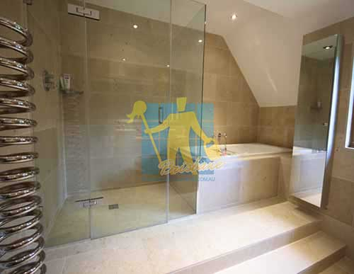 limestone floor tile siena honed shower Brisbane