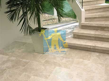 limestone tiles honed santa anna Brisbane