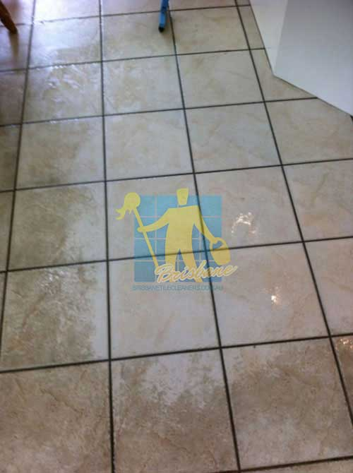 before and after cleaning limestone floor tiles