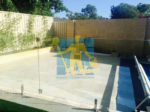 outdoor cleaned sandstone floor tiles