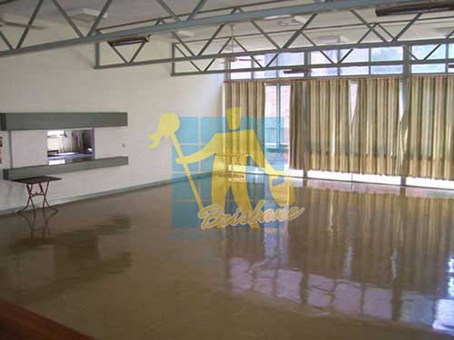 shiny polished vinyl floor Brisbane