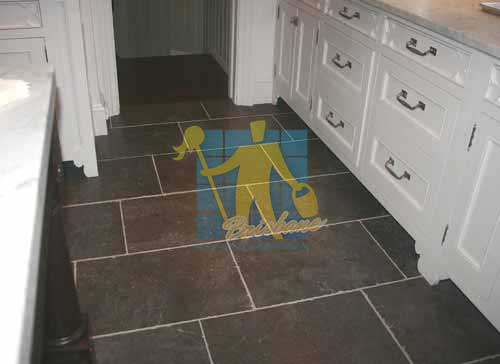 bluestone tiles traditional floor kitchen