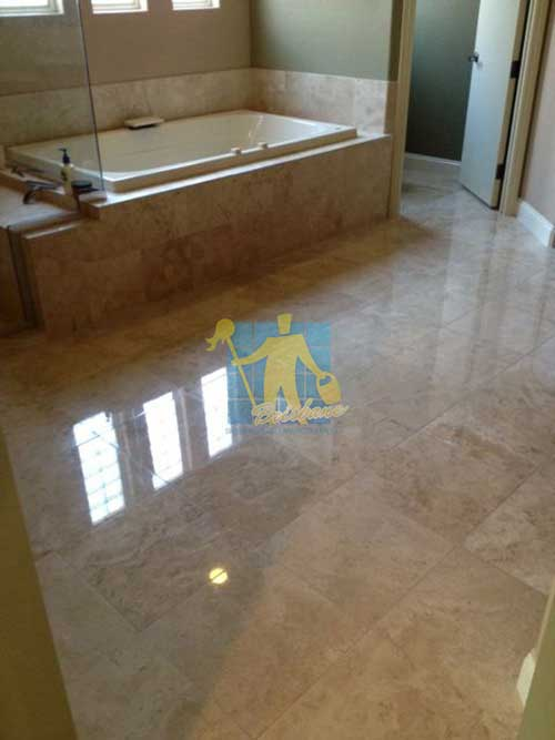 polished travertine floor Brisbane
