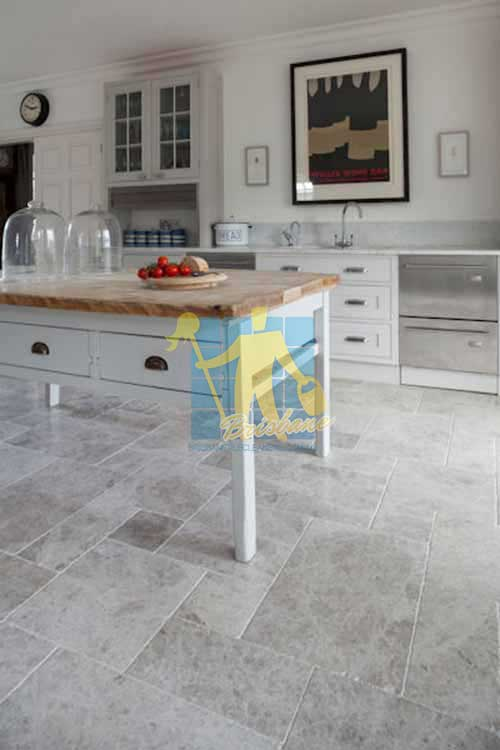 Karana Downs marble tumbled tundra tile_kitchen