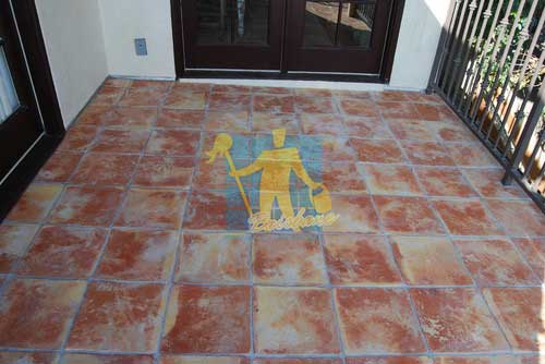 large terracotta tiles squares brand new mediterranean floor tiles_grey grout rustic look outdoor