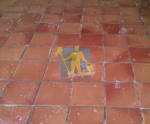 Tarracotta Tile Clean Wet Floor