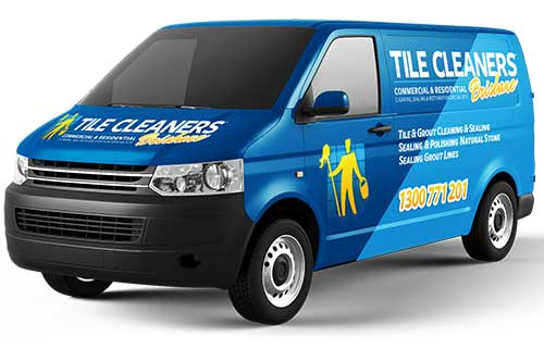 Brisbane Tile Cleaners Van