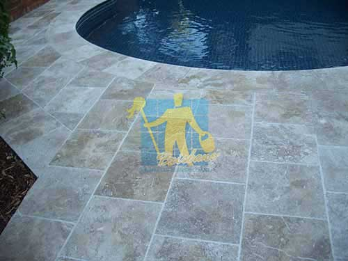 Tile Sample Sealer, Polished Travertine Stone Brisbane