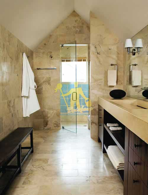 Sandstone Tiles Bathroom Brisbane